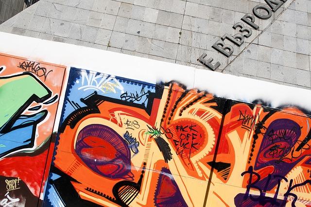 Free graffiti wall art painting street art mural image