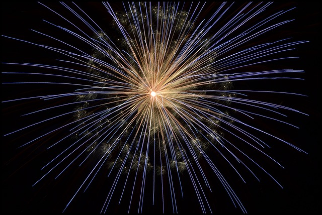 Free               fireworks new year's eve bright light firework