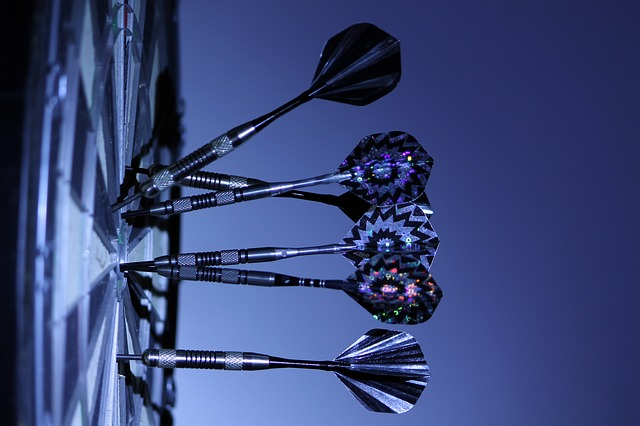 Free               darts dart board bull's eye game playing target
