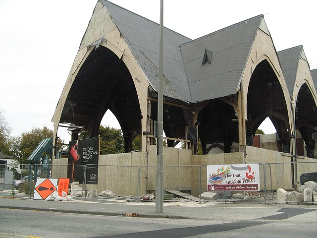 Free new zealand earthquake church rebuilding