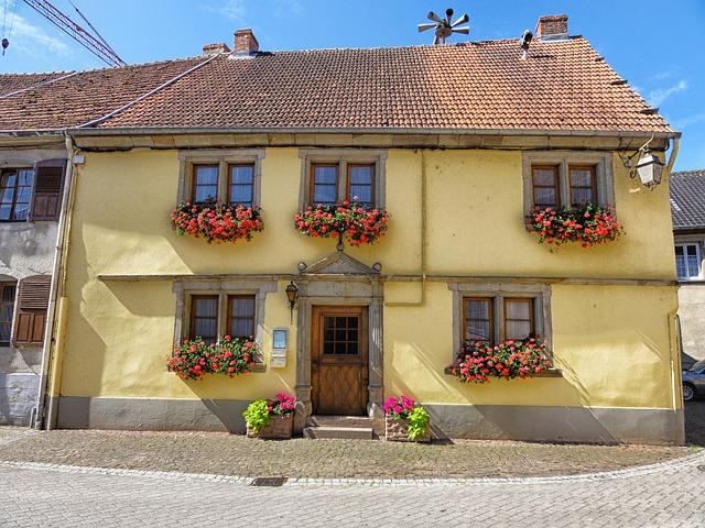 Free sarrewerden france town village buildings street