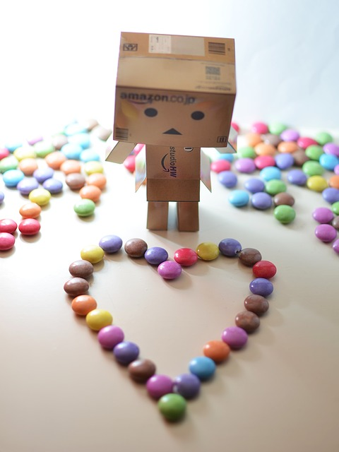Free danbo love cute robot android droid valentine
