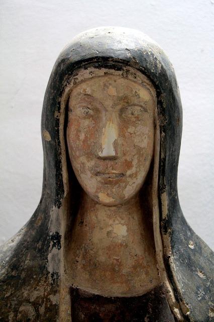Free Photos: Head statue santa madonna church santo | tatlin
