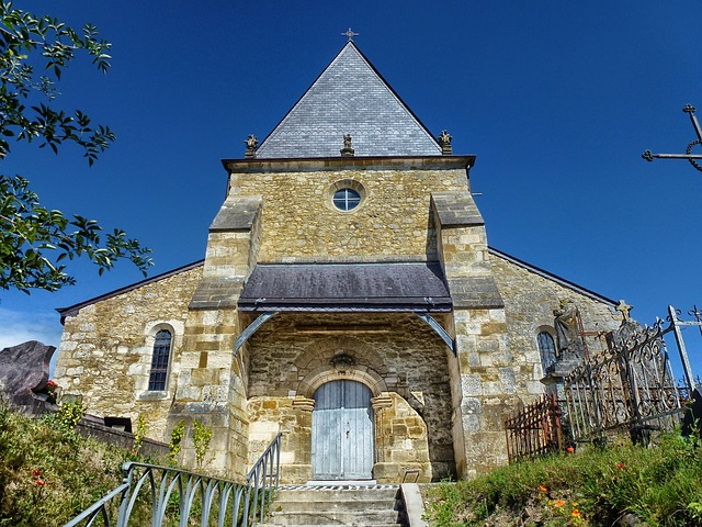 Free saint-loup-terrier france church building