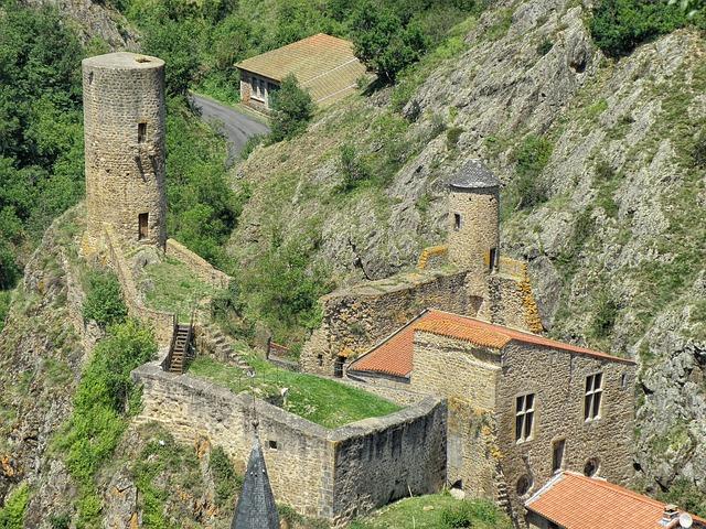 Free saint-floret france castle landmark historic