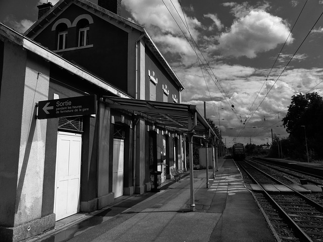 Free semeries france depot rail railway station train