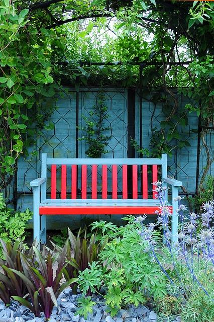 Free garden bench garden terrace park bench colors