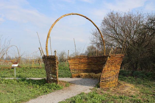 Free basket pasture braid nature