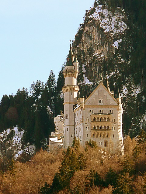 Free castle neuschwanstein bavaria germany building