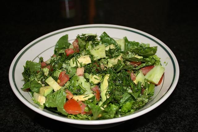 Free bowl food salad