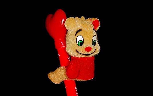 Free pencil bear cute
