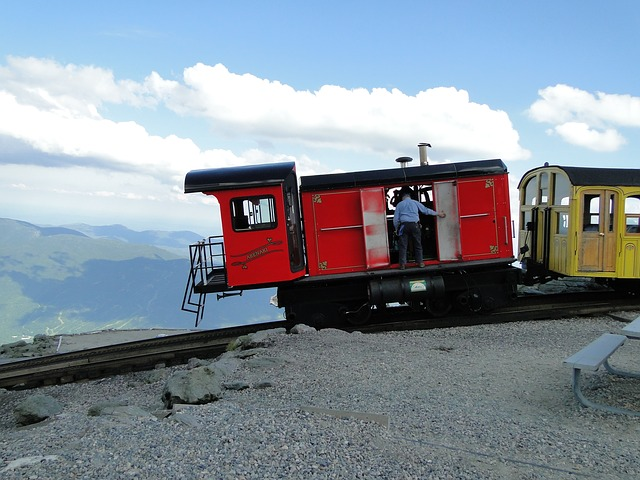 Free cog cog railway train mountains mountaintop