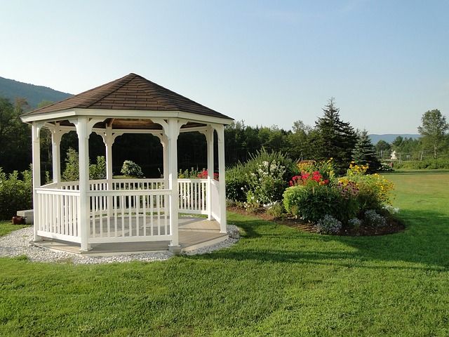 Free gazebo building outdoor structure summer grass