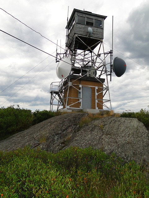 Free fire tower manned towers mountaintop lookout