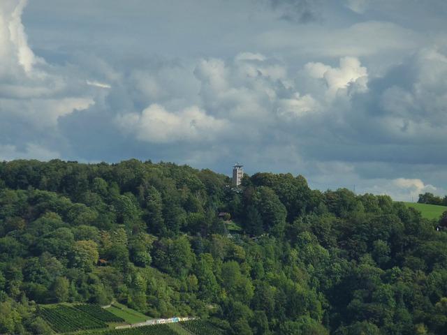 Free esslingen germany sky clouds scenic landscape
