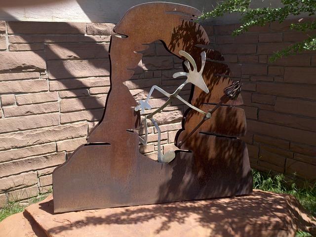 Free kokapelli utah moab statue metal tourism