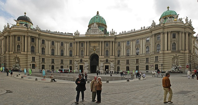Free hofburg imperial palace vienna austria architecture