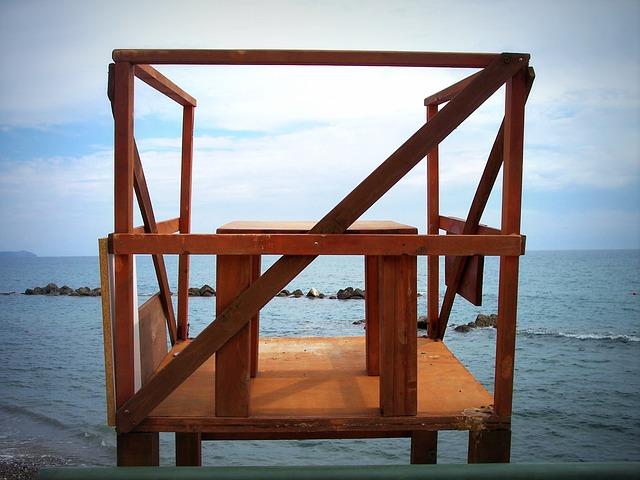 Free guard coast guard sea control wooden footboard