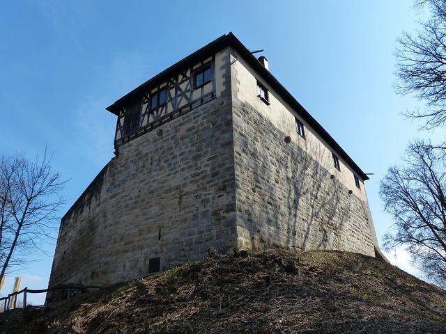 Free castle wäscherburg washer lock closed scrubber hof