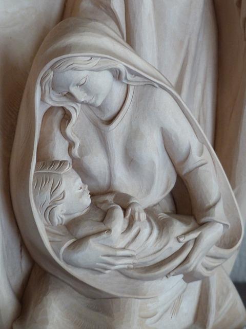 Free maria virgin mary jungfau maria christ child