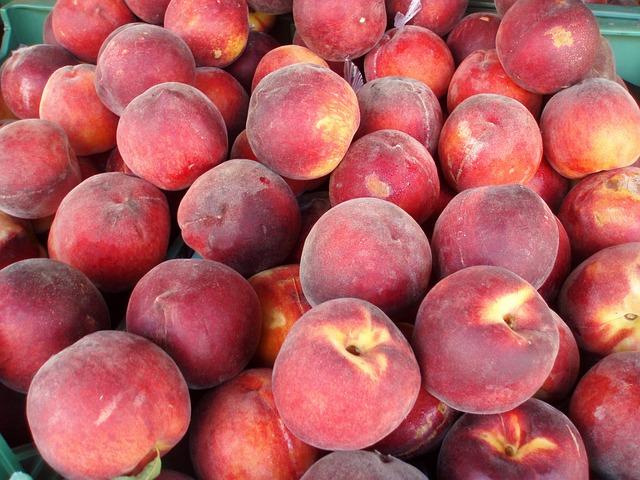 Free peaches delicious peaches peach sweet red