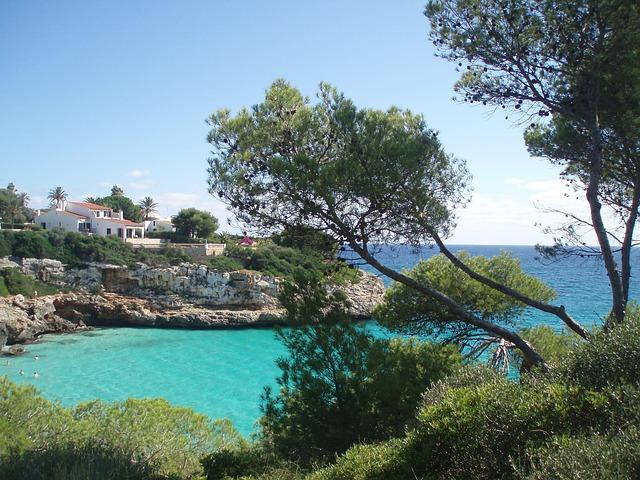 Free Photos: Mallorca rock nature sea beach tree | perlenfinder