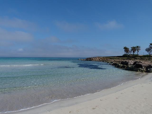 Free blue beach sea holiday outlook