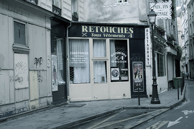 Free paris old business shop shopping