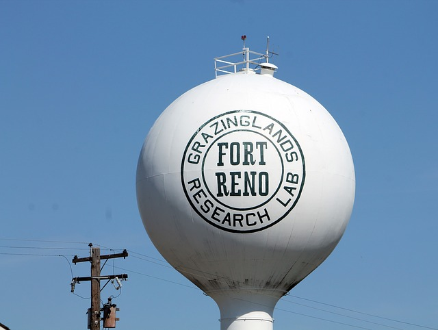 Free fort reno oklahoma water tower landmark towers