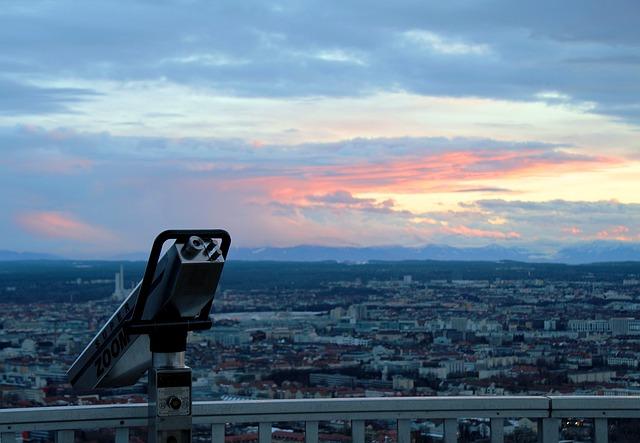 Free olympia tower munich olympic park tower binoculars