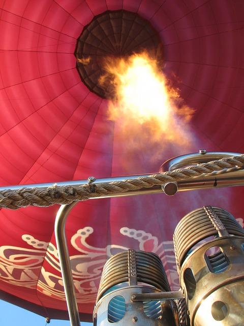 Free hot air balloon burner new mexico usa