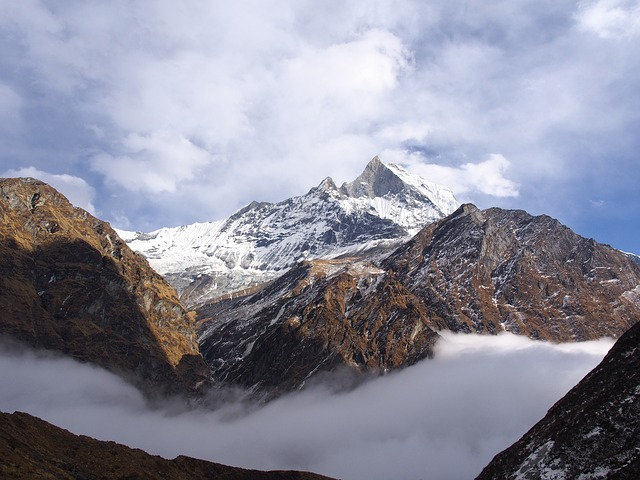 Free nepal basecamp himalayas mountains snow landscape