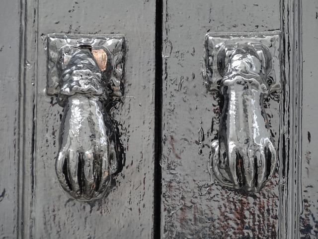 Free bell door opener door hand metal door hardware