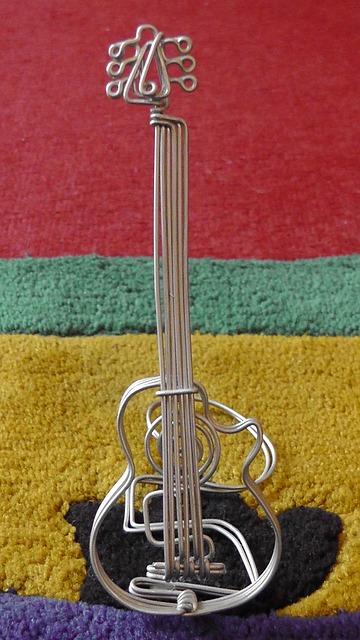 Free guitar wire musical instrument music instrument