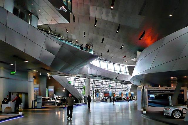Free bmw museum interior hyper modern daring architecture