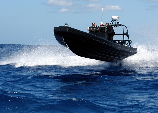 Free speedboat boat sea ocean water nature outside