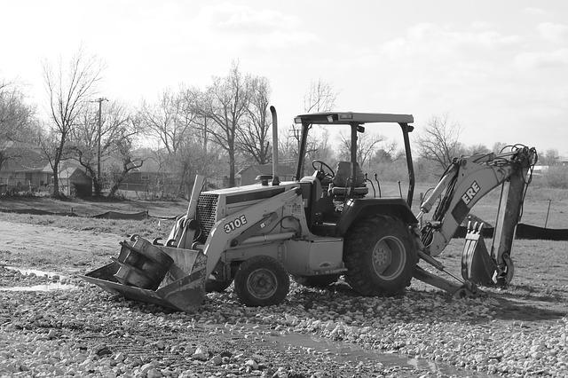 Free backhoe excavator construction equipment