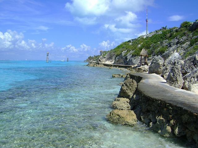 Free punta sur cozumel mexico sky clouds sea ocean