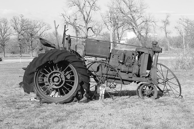 Free tractor antique vintage farm agriculture equipment