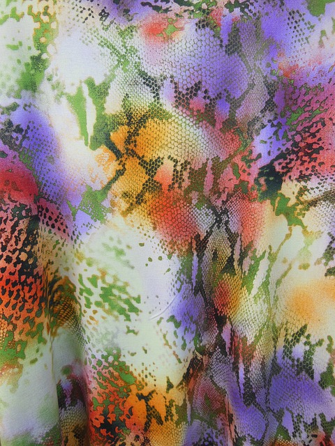 Free fabric spring fashion colors pattern prints