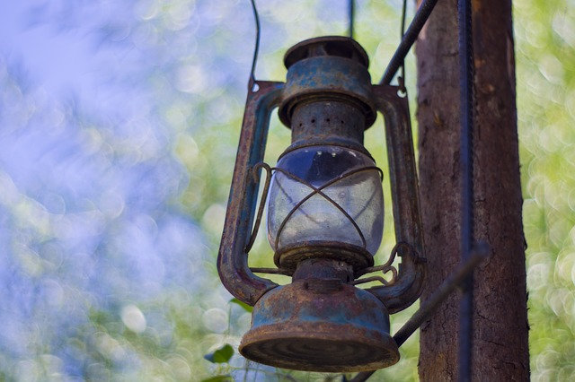 Free gas lamp gas lighting vintage lantern oil lamp