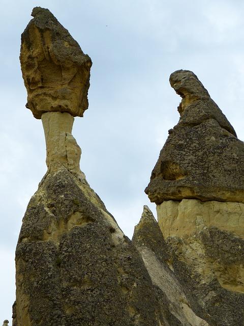 Free valley of love fairy chimneys fairy towers tufa