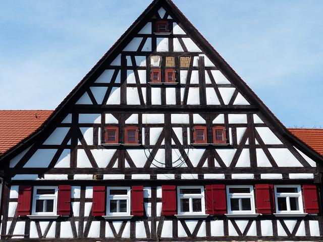 Free home fachwerkhaus farmhouse hof farm building