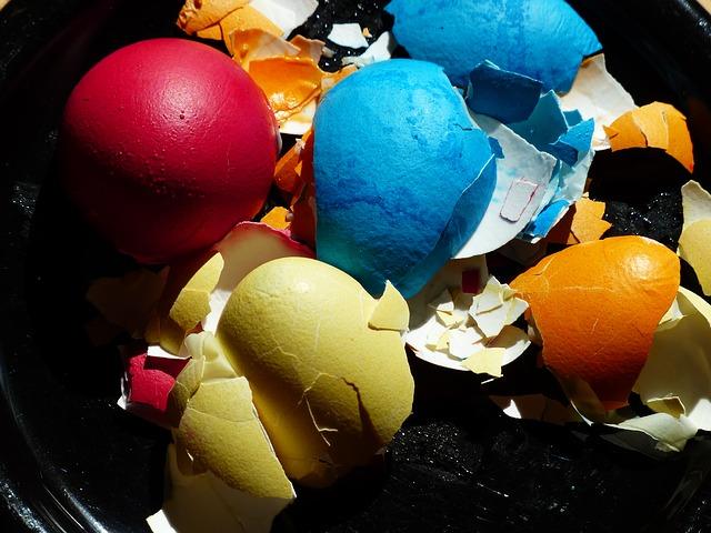 Free eggshell egg easter eggs colorful color