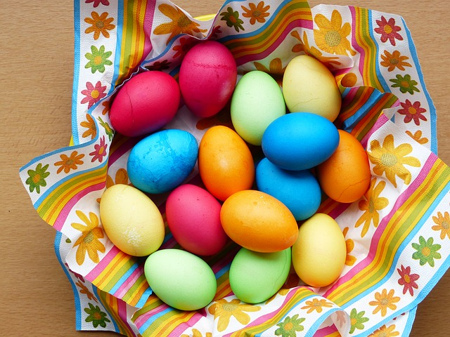 Free egg colorful easter eggs easter paint color