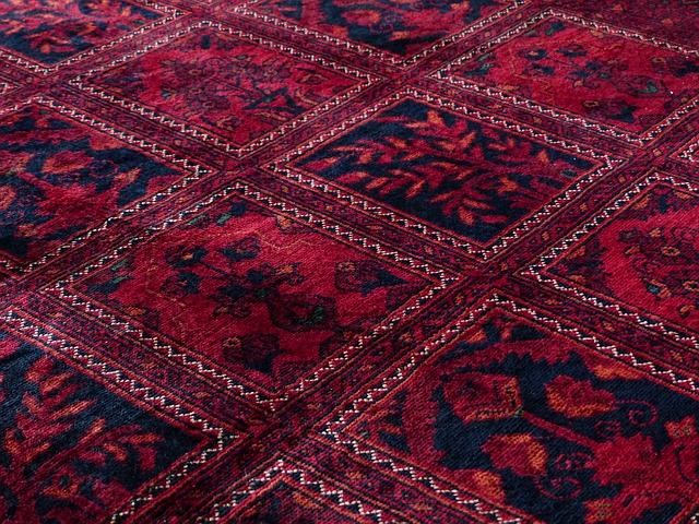 Free carpet red tying silk wool carpet weaving center