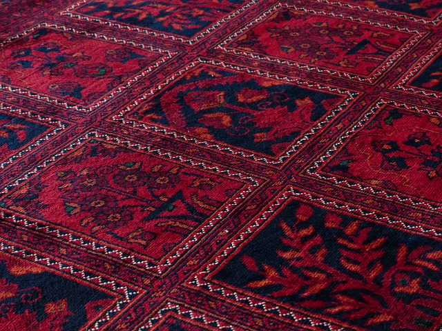 Free carpet red tying silk wool carpet weaving center