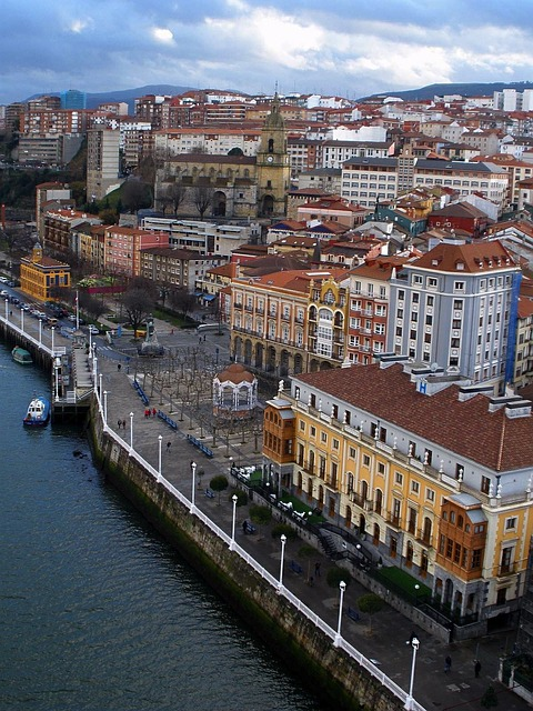 Free Photos: Portugalete spain city river water buildings | David Mark