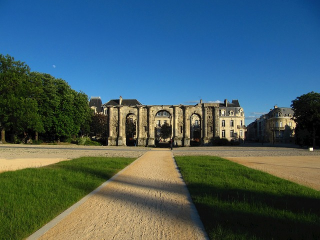Free france castle landmark architecture grounds plaza