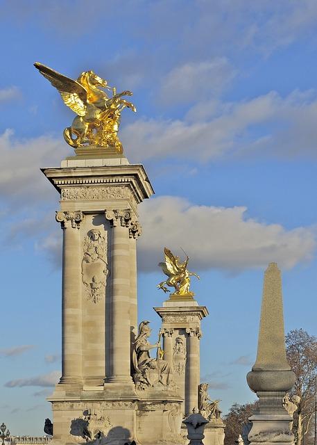 Free paris france pont alexandre iii monuments